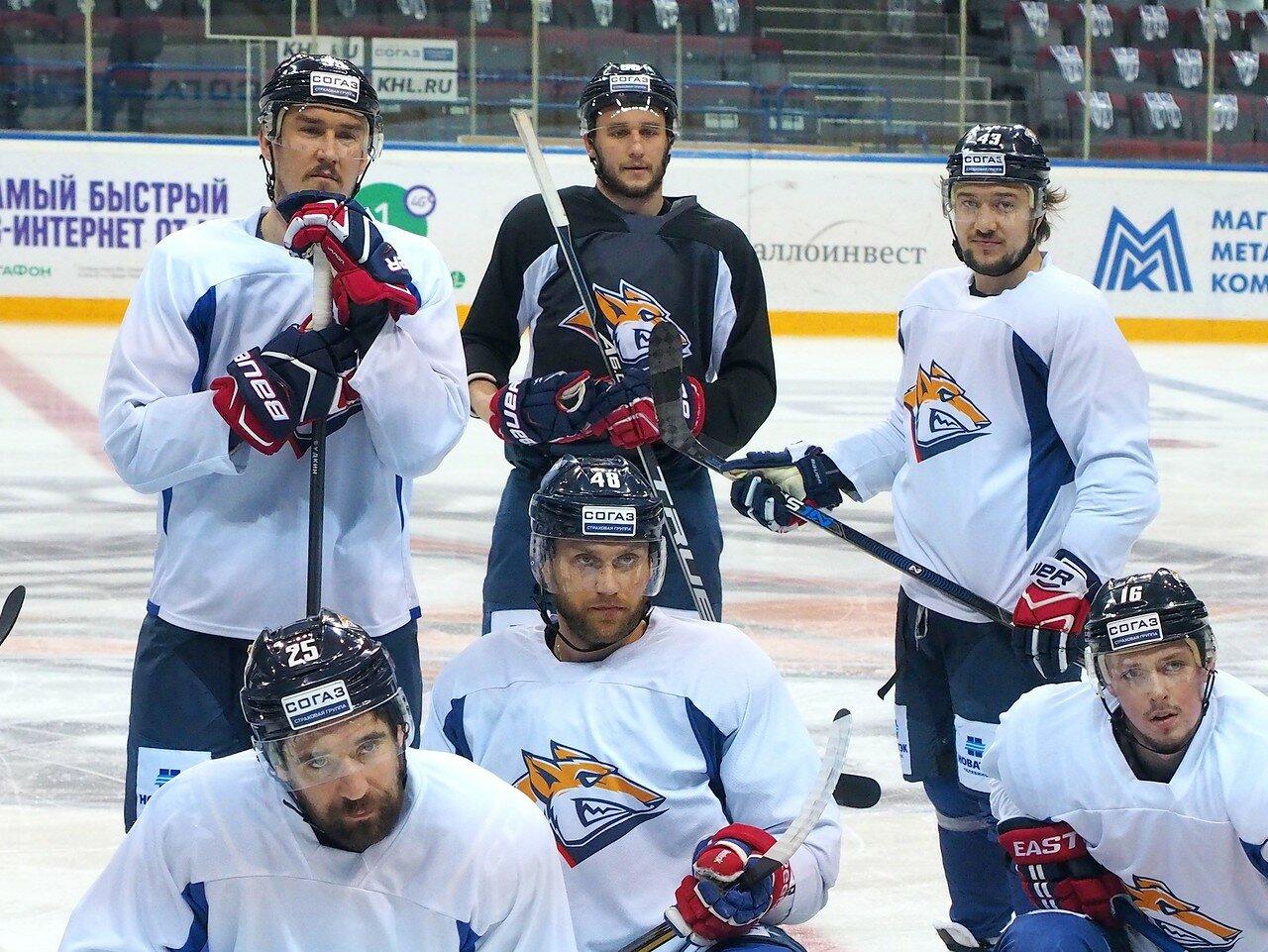17 Открытая тренировка перед финалом плей-офф КХЛ 2017 06.04.2017