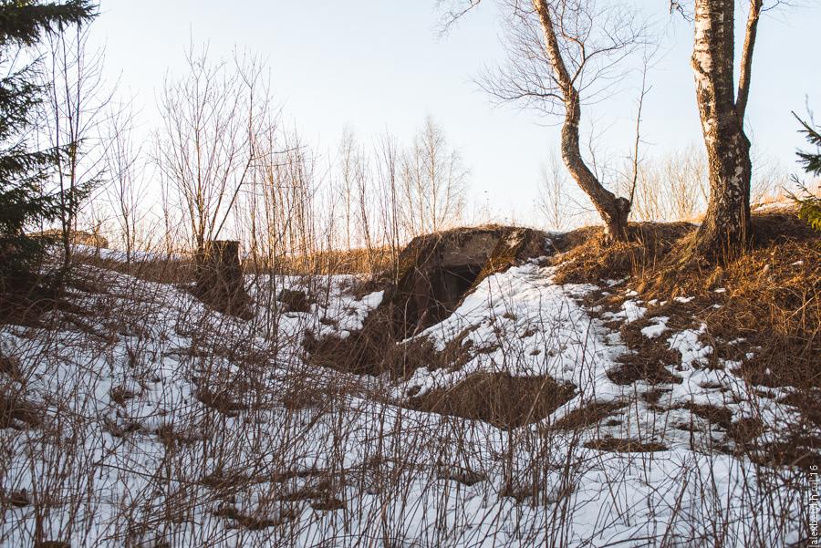 alexbelykh.ru, форт Серая лошадь, западная батарея форта серая лошадь
