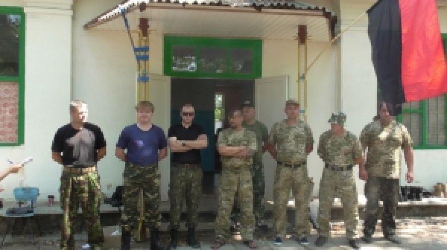 Молодежь Донетчины прошла военное обучение