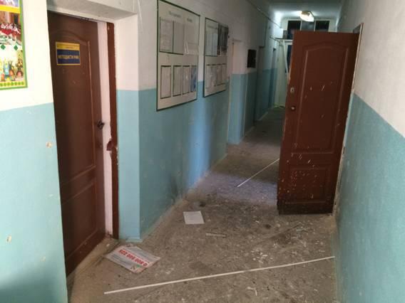 На Киевщине в помещении райгосадминистрации произошел взрыв (фото)