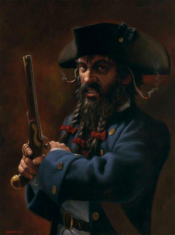 Черная Борода.
