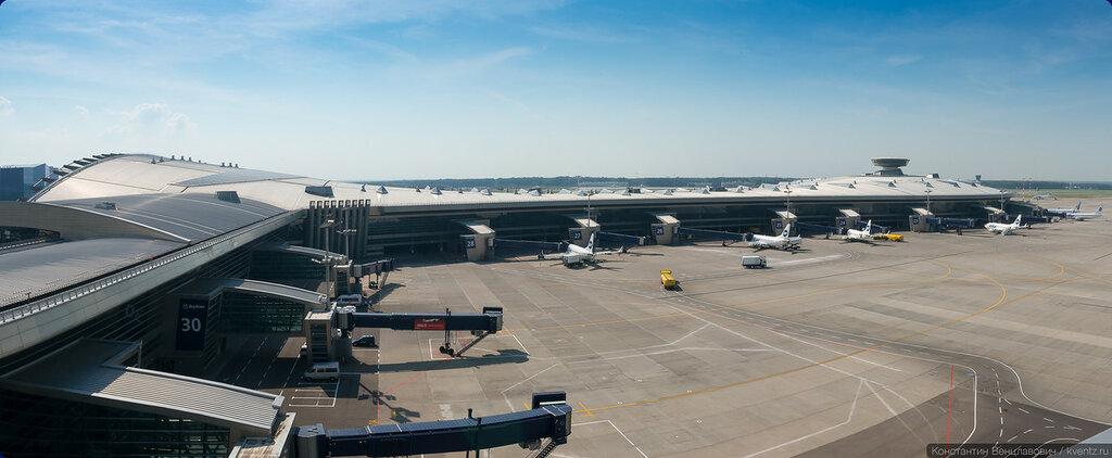 Переснял панораму терминала A