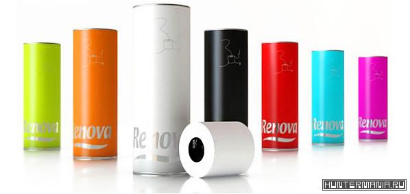 Самая дорогая туалетная бумага в мире - Renova
