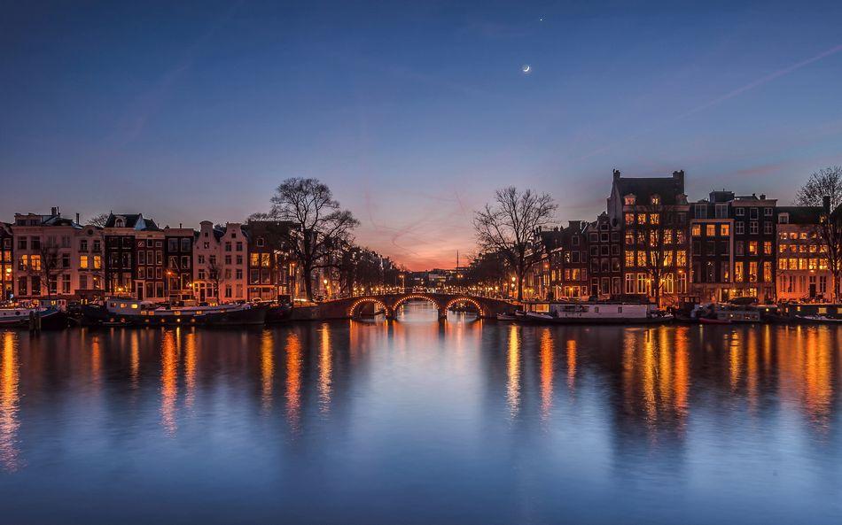 Нидерланды, городской пейзаж
