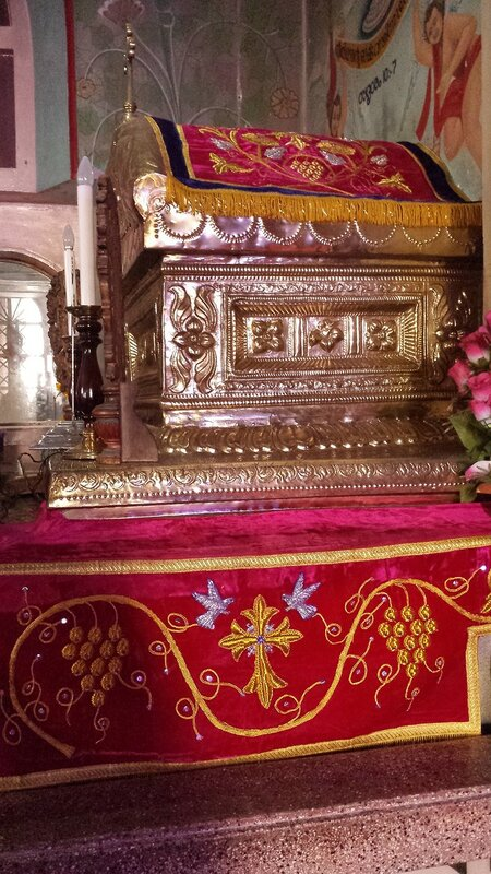 Tomb of Mar Gregorios Abdul Jaleel, the first Antiochian bishop to reach Malankara