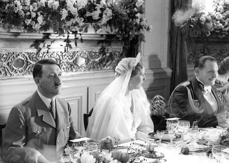 Свадьба Германа Геринга, 1935 год, Германия