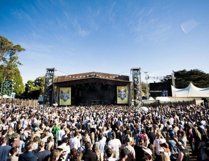 На музыкальном фестивале в Австралии серьезные травмы в давке получили почти 60 человек