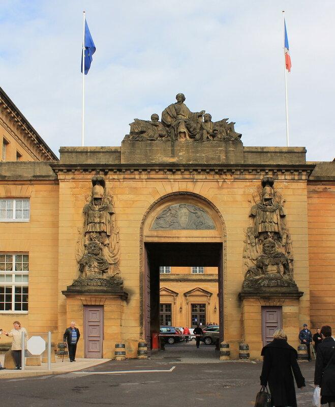 Мец. Дворец Юстиции (Palais de justice de Metz)