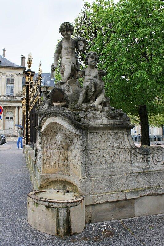 Нанси. Площадь Де-ла-Карьер (Place de la Carrière)
