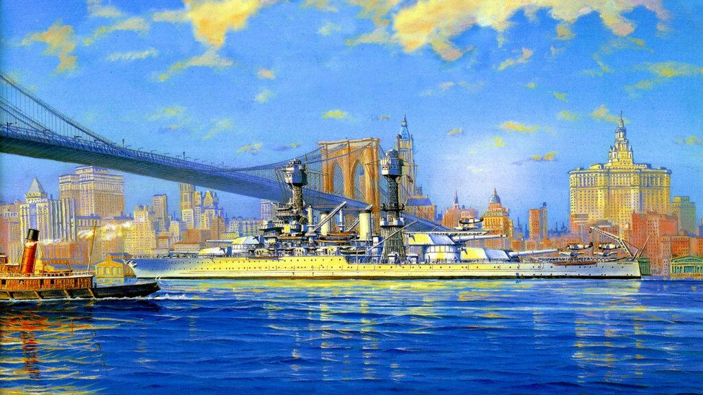 1941 USS West Virginia  - James A. Flood.