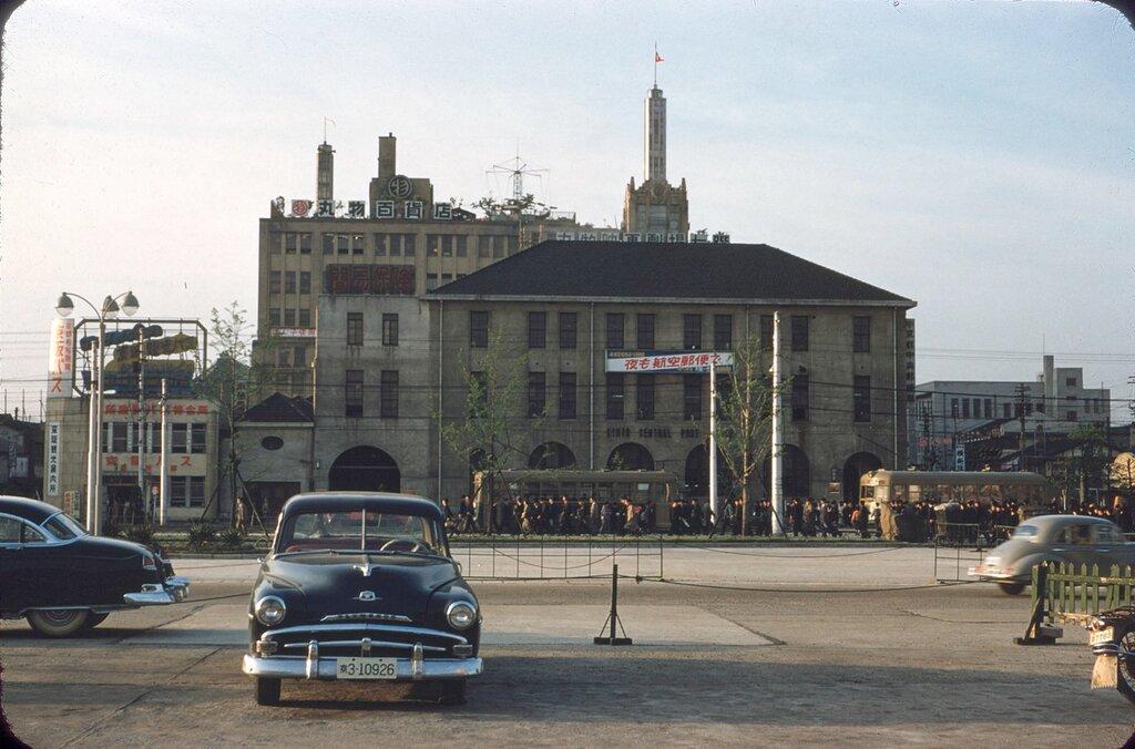 Osaka, May 1954.
