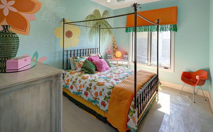 7. Спальня для девочки от Robin Bond Interiors