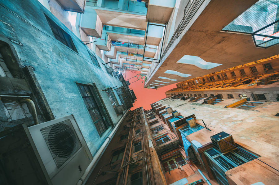 1. Гонконг представляет собой настоящие бетонные джунгли, с практически полным отсутствием парков.