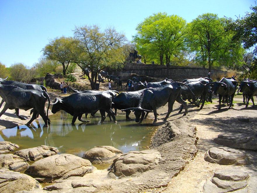 13. Перегон скота, Даллас, США