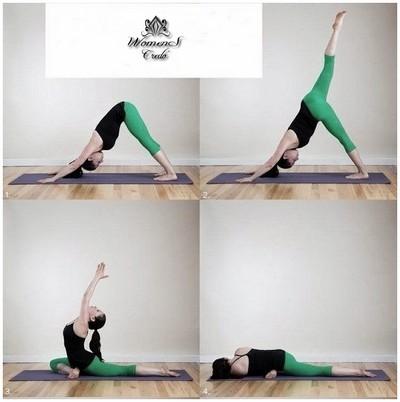 Йога для красивых ягодиц и стройных ног