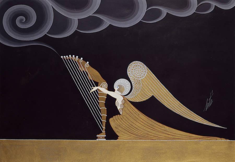 Ange harpiste, 1926.