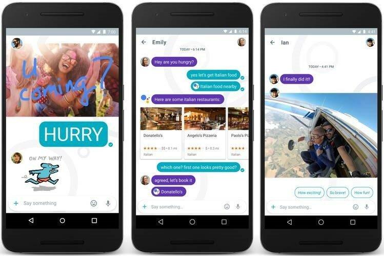 Приложение Google Allo превышает 1 миллион загрузок на Android