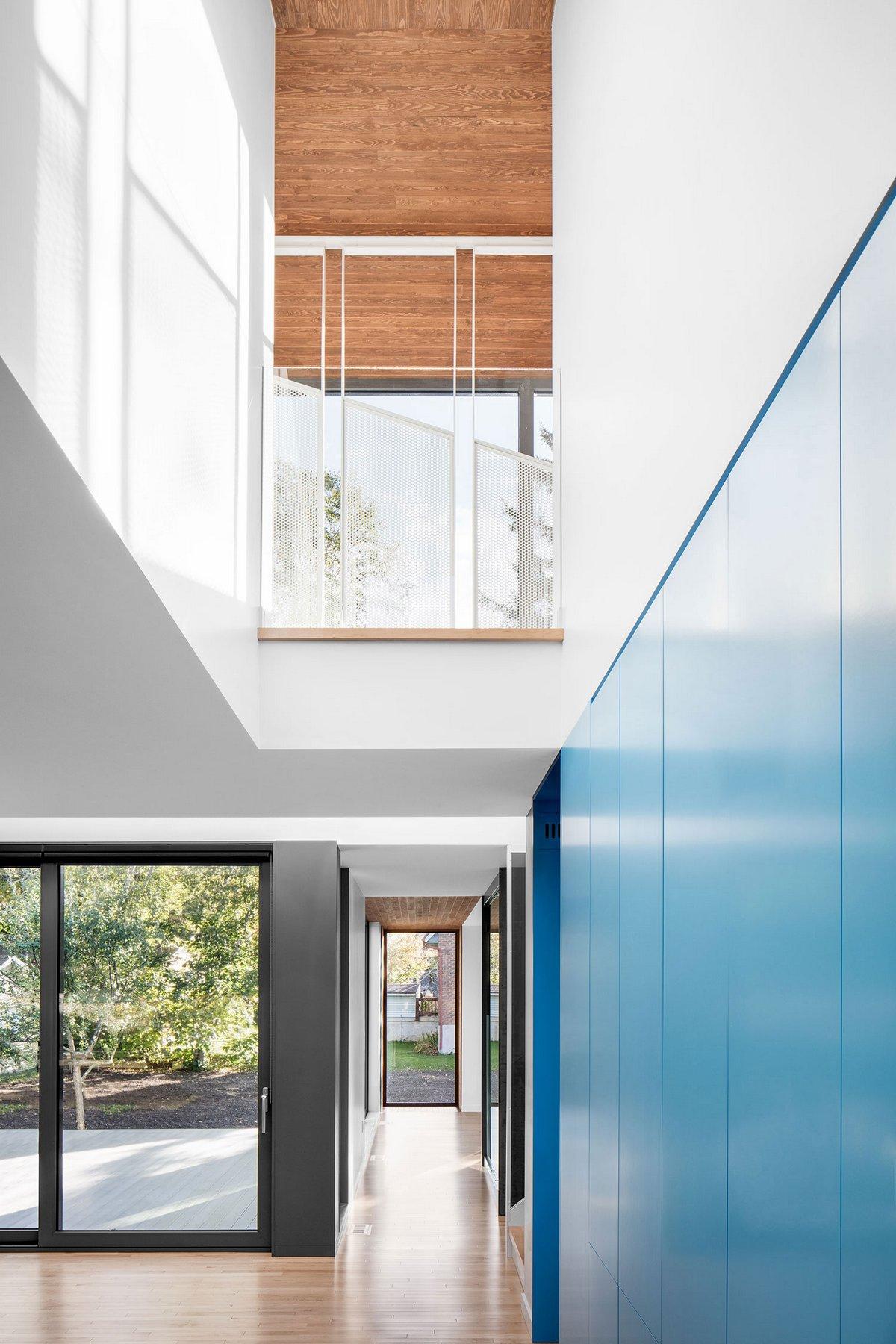 Residence au Bic, NatureHumaine, современные частные дома фото, оформление небольшого частного дома фото, панорамные окна в частном доме