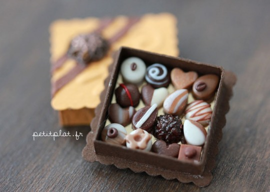 Various Food Miniatures by PetitPlat
