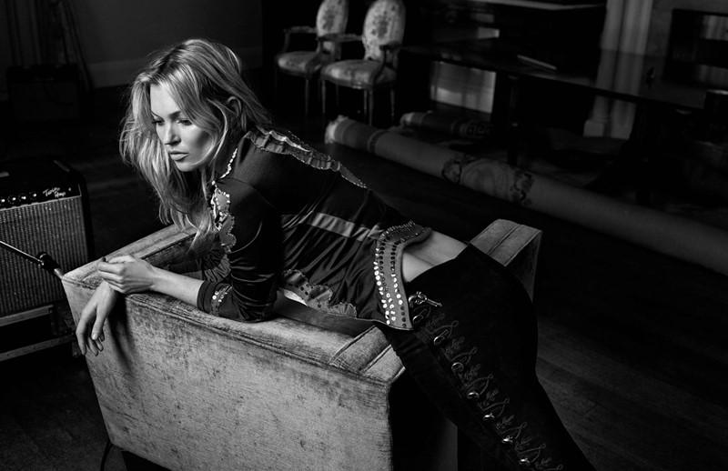 Кейт Мосс Vogue UK (май 2016) фото 5