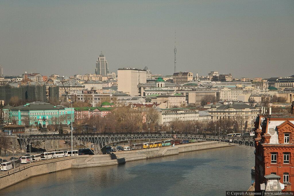 Вид с памятника Петру I