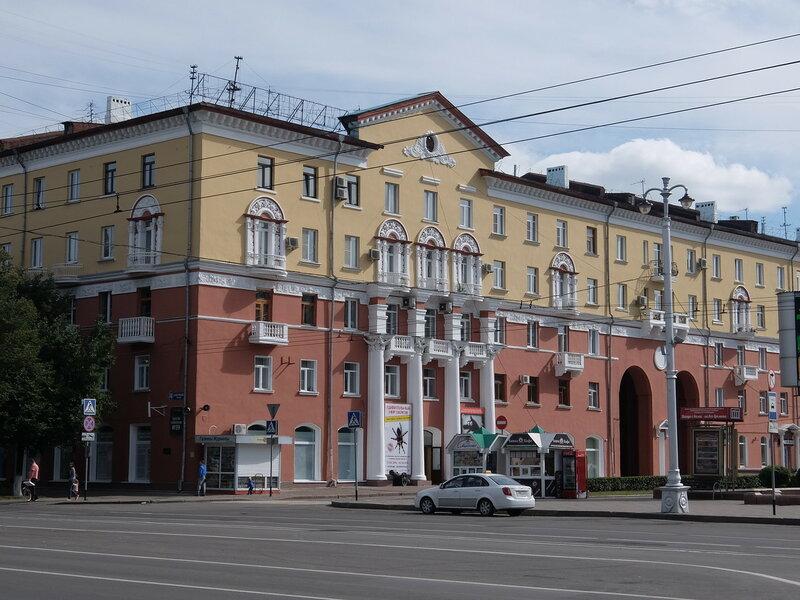 Кемерово - Дом на Советском проспекте