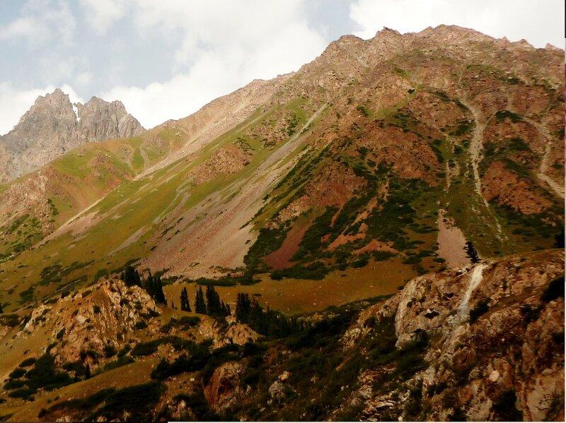 В горах Терскей Ала-Тоо (Тянь-Шань).. Кыргызстан, Барскаун - 01.jpg