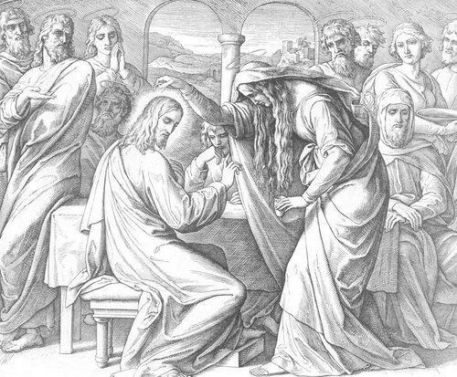 Помазание Христа