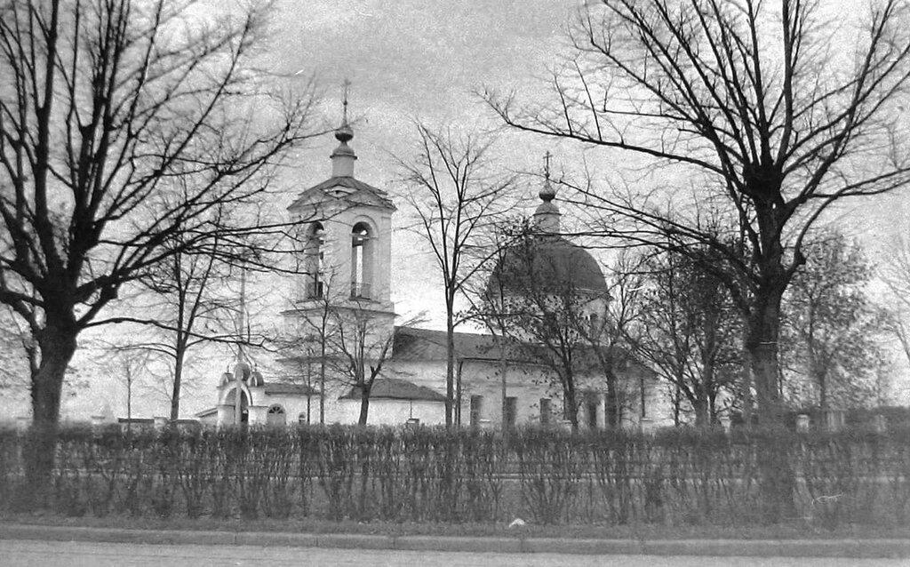 94860 Церковь Живоначальной Троицы в Воробьево архив И. Иванова 1958.jpg