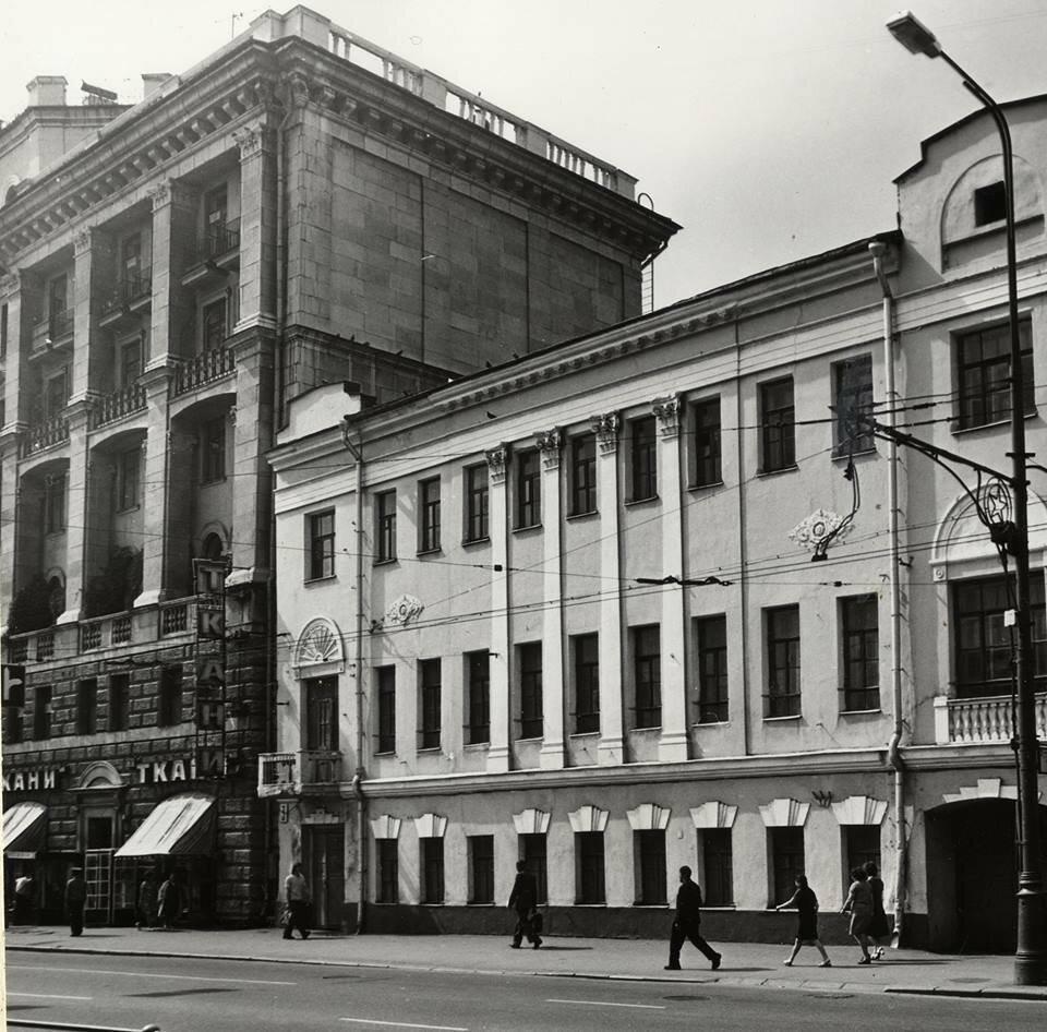 А. Жданов. Тверской бульвар 1973.jpg
