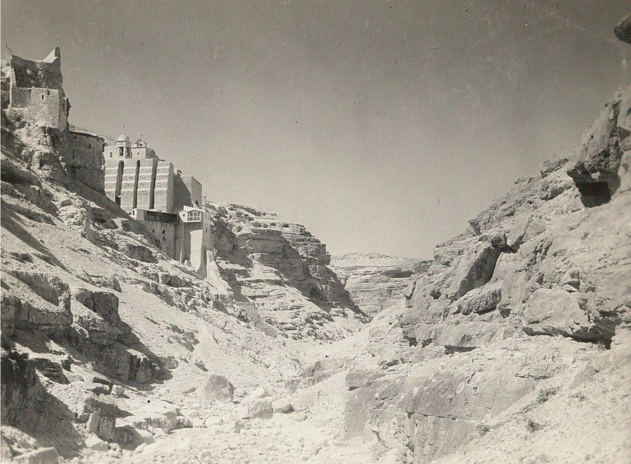 Кедронская долина. Монастырь Саввы Освященного