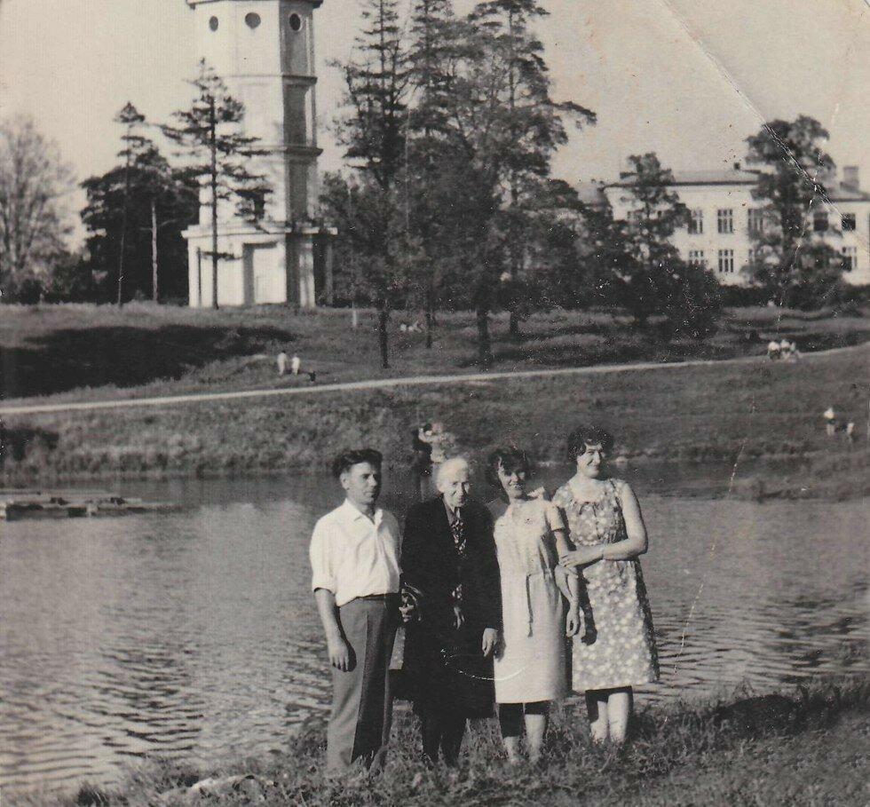 1969. Приоратский парк, Филькино озеро
