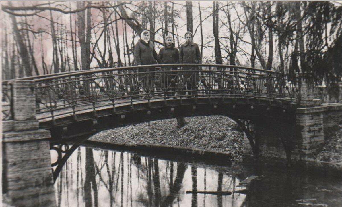 1977. Водный лабиринт в гатчинском парке