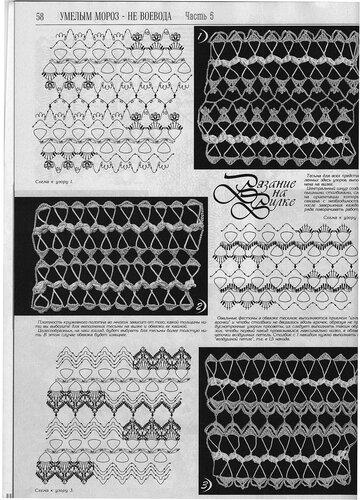 Вязание на вилке. С чего начинать, приспособления и узоры. 0_8bc95_f145f51_L