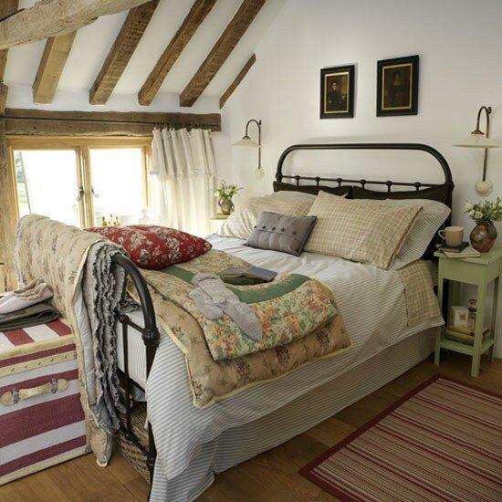 Спальня в стиле кантри - Построй свой.