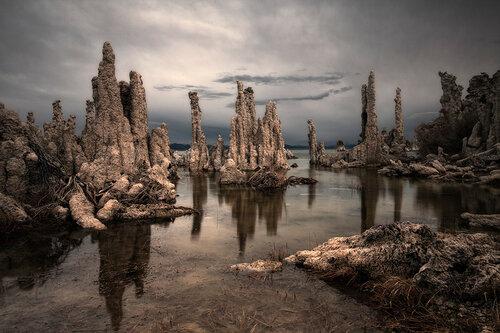 Фантастические миры озера Моно