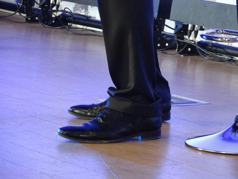 Ботинки Михаила Прохорова когда он стоит