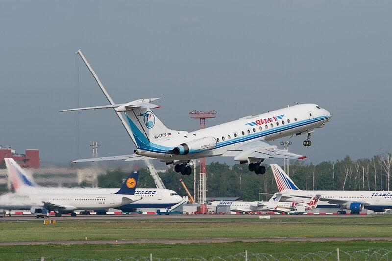 Туполев Ту-134А-3 (RA-65132) Ямал DSC2748