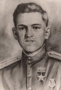 Герой Советского Союза ст. лейтенант А.М. Птухин