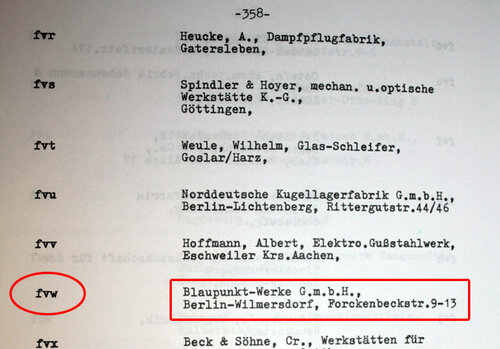 """Blaupunkt-Werke G.m.b.H."""