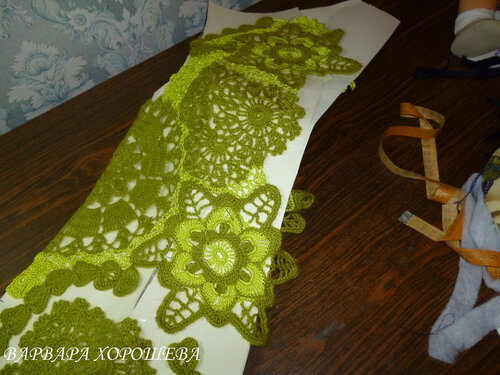 爱尔兰拼花衣教程 - 柳芯飘雪 - 柳芯飘雪的博客