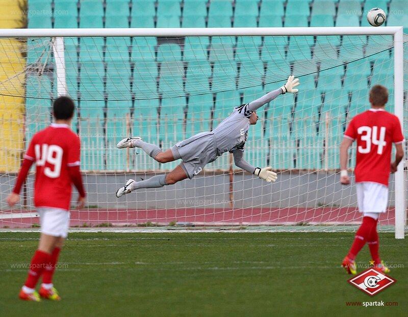 «Спартак» vs «Импульс» 7:0 контрольный матч 2012 (Фото)