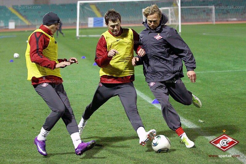 «Спартак» тренируется в Никосии (Фото)