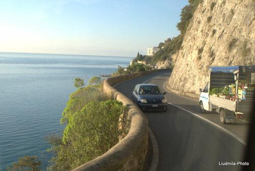 вдоль Амальфитанского побережья