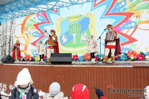 Масленица 2012 в Усадьбе Деда Мороза