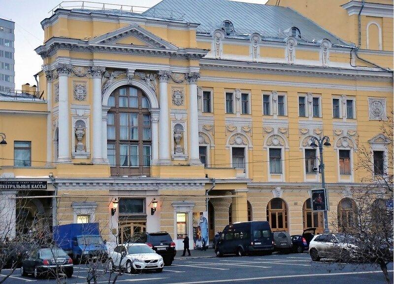 Театры Москвы и их адреса