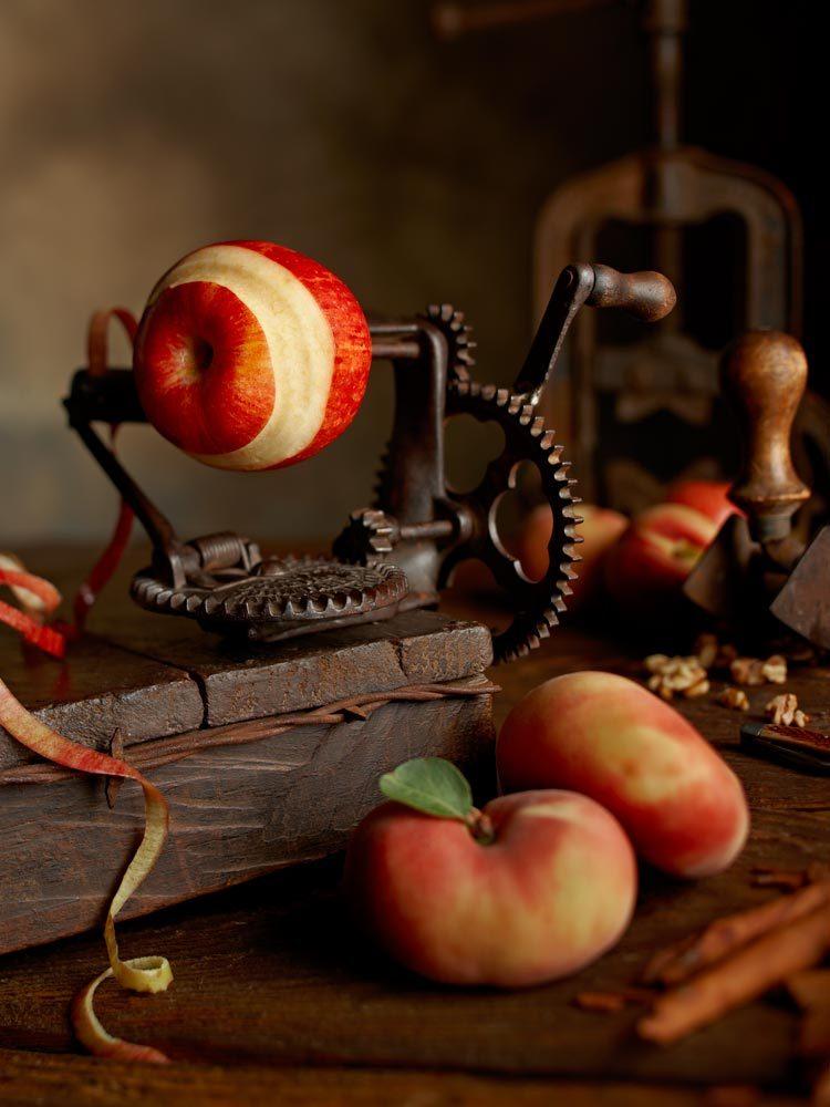 Кухонная архаика в проекте «Tastefully Twisted». Фуд-фотограф Lew Robertson