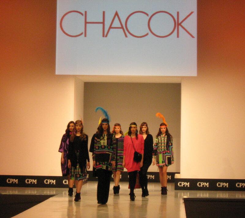 CHACOK на выставке моды CPM 2012