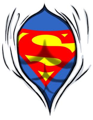 футболка с картинкой супермен
