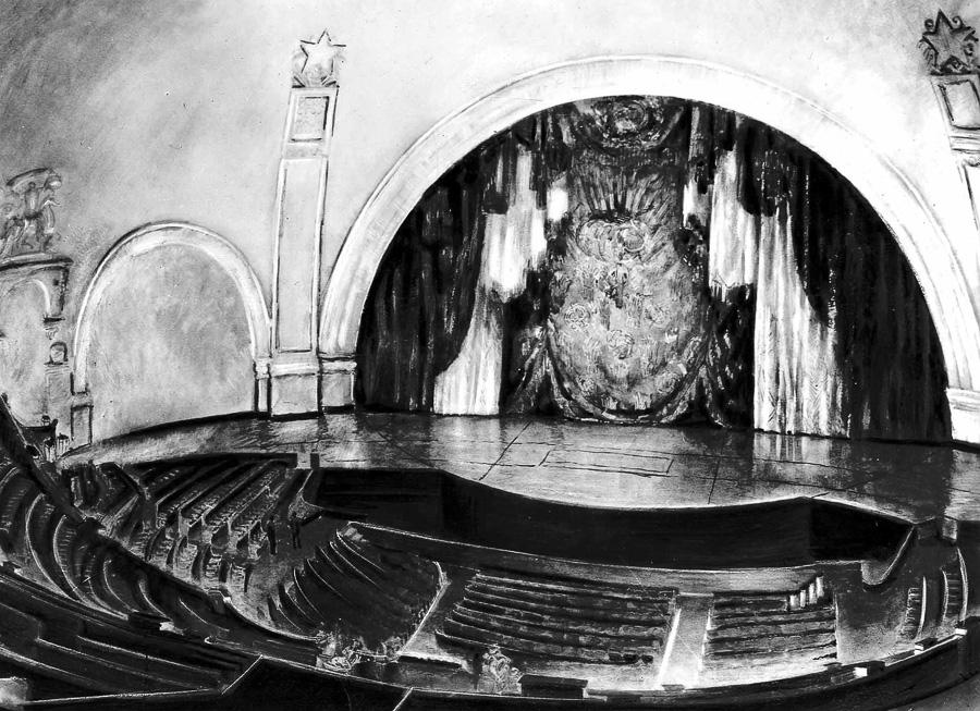 История проектирования Новосибирского театра оперы и балета (Часть 2) .